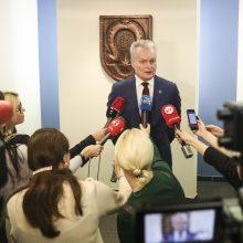 G. Nausėda skeptiškas dėl nuleistos kartelės rinkimams: bus daugiau chaoso