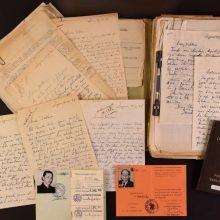 Archyvui perduodami diplomatijos šefo S. A. Bačkio dokumentai