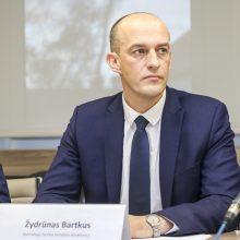 Ž. Bartkus pristatė STT veiklos ataskaitą