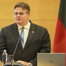 Ministras: JAV sveikina aktyvesnį Lietuvos įsitraukimą į dialogą su Baltarusija