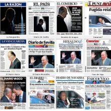 Žiniasklaida: buvęs Ispanijos karalius pabėgo į Dominiką