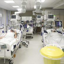 Ligoninėse nuo COVID-19 gydomi 921 pacientas, 97 iš jų – reanimacijoje