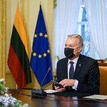 Prezidentui įteiktas Vilniaus Gaono ir Lietuvos žydų istorijos metų atminimo medalis