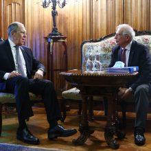 J. Borrellis: jokia ES narė dar nepasiūlė konkrečių sankcijų Rusijai dėl A. Navalno