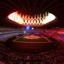 Pasibaigusių Tokijo olimpinių žaidynių organizatorė patenkinta renginio saugumu