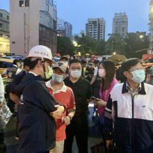 Mažiausiai 46 žmonės žuvo per gaisrą daugiaaukštyje Taivane