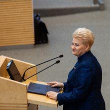 D. Grybauskaitė: Lietuva yra tarp finansinių technologijų lyderių