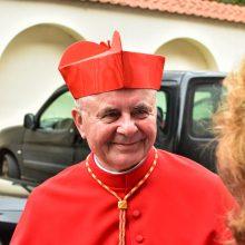 Kaune – kardinolo S. Tamkevičiaus Padėkos Mišios <span style=color:red;>(vaizdo įrašas)</span>