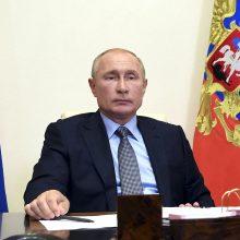 V. Putinas ragina šaukti skubų viršūnių susitikimą