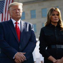 Minint rugsėjo 11-osios atakų metines D. Trumpas žada smogti Talibanui
