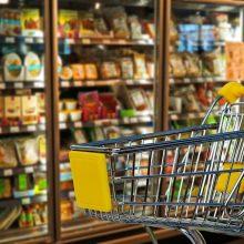 Tyrimas: pigiausių maisto produktų krepšelis balandį buvo 7 proc. pigesnis nei prieš metus