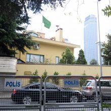 JAV ir Turkijos prezidentai spaudžia Rijadą dėl žurnalisto dingimo