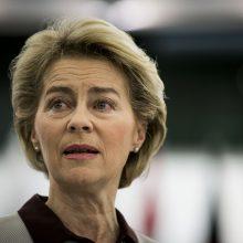 EK prezidentės stilius: dirbti ir gyventi po vienu stogu (specialiai iš Briuselio)