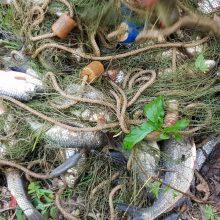 Apie ketinimą žvejoti nelegaliu būdu prasitarė aplinkos apsaugos inspektorei