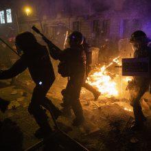 Ispanijoje – nauji protestai dėl nuosprendžių katalonų lyderiams