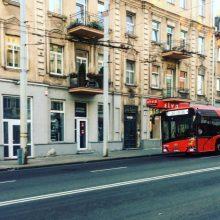 Nuo gruodžio keičiami visų sostinės viešojo transporto maršrutų tvarkaraščiai