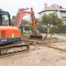 Kauno rajone vykdoma centralizuotų vandentiekio ir nuotekų tinklų plėtra