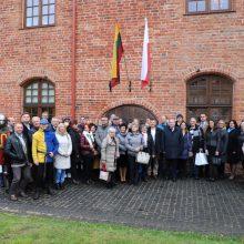 Kauno rajonas tęsia bendradarbiavimą su lenkais