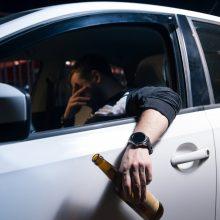 Palangoje sulaikytas girtas vairuotojas