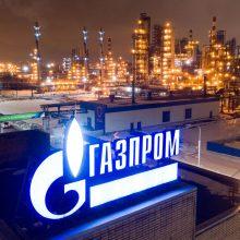"""""""Gazprom"""" didins dujų tranzitą į Vokietiją dėl šalį kaustančio šalčio"""