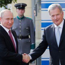 Putinas pradėjo darbo vizitą Suomijoje