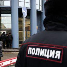 """Maskvoje po pranešimo apie """"užminavimą"""" evakuoti septyni teismai"""