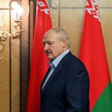 Dėl koronaviruso pandemijos atidedamas A. Lukašenkos vizitas Latvijoje