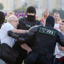 Baltarusijos teisėsauga priminė protestuotojams apie baudžiamąją atsakomybę
