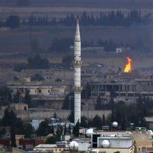 JAV reikalauja paliaubų Sirijoje, bet Turkija nepaklūsta