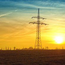 Praėjusią savaitę Lietuvoje elektra brango 10 proc.