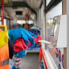 Ką karantino metu svarbu žinoti Vilniaus viešojo transporto keleiviams?