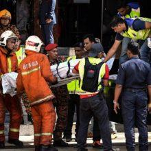 Per gaisrą karaokės centre Malaizijoje žuvo šeši žmonės
