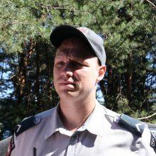 Reidas prie Lampėdžio ežero: pažeidėjai pergudravo patys save