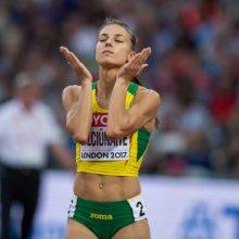 Vilniaus maratone bėgsianti E. Balčiūnaitė pasirinko neįprastą distanciją
