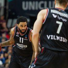 """""""Ryto"""" krepšininkai iškovojo kelialapį į Europos taurės ketvirtfinalį"""
