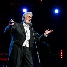 Operos karaliaus P. Domingo koncertas Kaune sužavėjo publiką