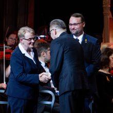 Teikiant nacionalines kultūros premijas, prezidentė paragino gerbti meno įvairovę