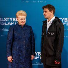 """Vilniuje pristatyta """"Valstybės paslaptis"""" – filmas apie D. Grybauskaitę"""