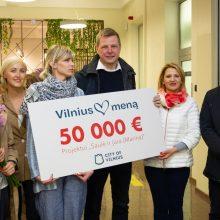 Venecijos bienalės laimėtojoms – 50 tūkst. eurų iš Vilniaus savivaldybės
