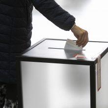 Rinkėjų aktyvumas Estijos vietos rinkimuose viršijo 54 proc.