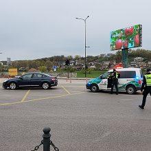 """Kaune į ligoninę išvežtas su """"Citroen"""" susidūręs motorolerio vairuotojas"""