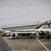 Autobuso avarijoje Madeiroje nukentėję vokiečiai skraidinami namo