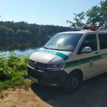 Vasarą – pareigūnų papildomas dėmesys vandens telkinių ir poilsio zonų prieigoms