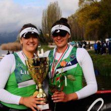 Kauno rajono sporto mokyklos irkluotojai puikiai pasirodė varžybose Italijoje