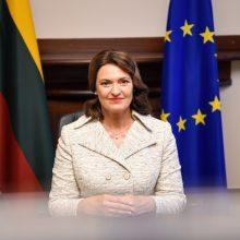 Lietuvos ir Vokietijos pirmosios ponios aptarė padėtį abiejose šalyse po karantino
