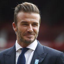 D. Beckhamas ruošiasi pristatyti savo profesionalų futbolo klubą
