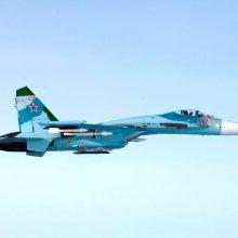 Juodojoje jūroje nukrito Rusijos naikintuvas, piloto ieškoma