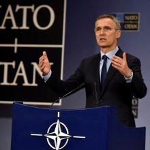 NATO vadovas patvirtino planus dėl JAV karinės technikos sandėlio Lenkijoje