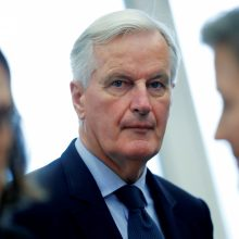 """M. Barnier: ES palaikys Airiją bet kokio """"Brexit"""" scenarijaus atveju"""