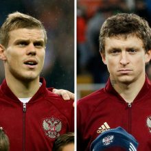 Maskvoje nuteisti kalėti du muštynėse dalyvavę Rusijos futbolininkai
